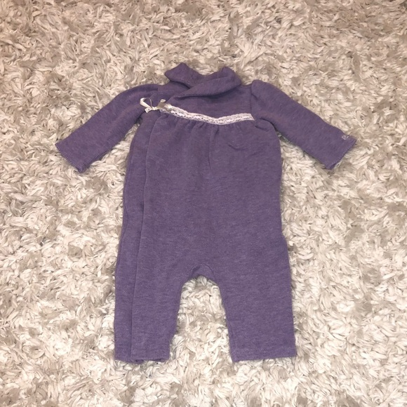 Ralph Lauren One Pieces Cotton Ribbed Coverall Baby Size